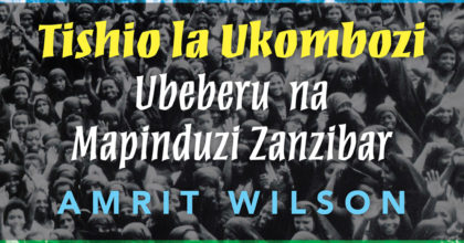 Daraja Press announces new book on Zanzibar Revolution in Swahili