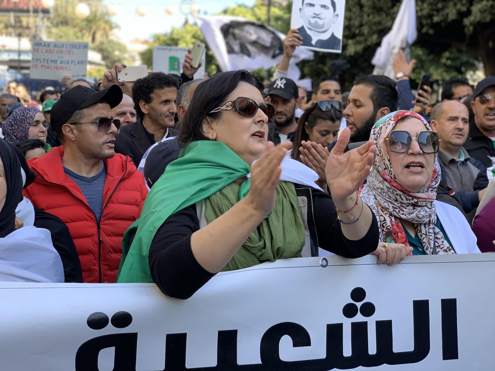 Uprisings in the time of COVID19: Algeria