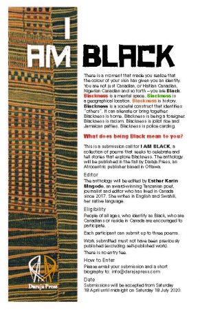 I AM BLACK — Call for proposals