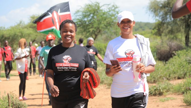 Njoki & Faith: Update on repression from Social Justice Centres (Nairobi)