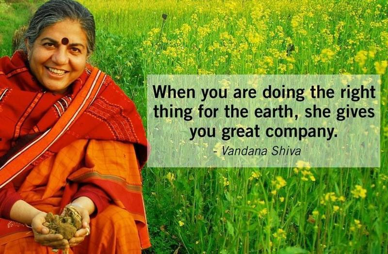 Vandana Shiva on Oneness vs the 1% in the time of Covid-19