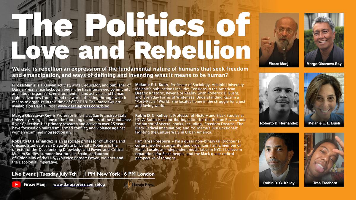 The Politics of Love and Rebellion