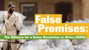 False Promises: The Alliance for a Green Revolution in Africa