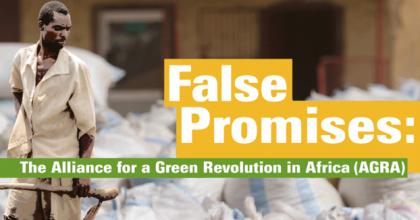 False Promises: The Alliance for a Green Revolution in Africa